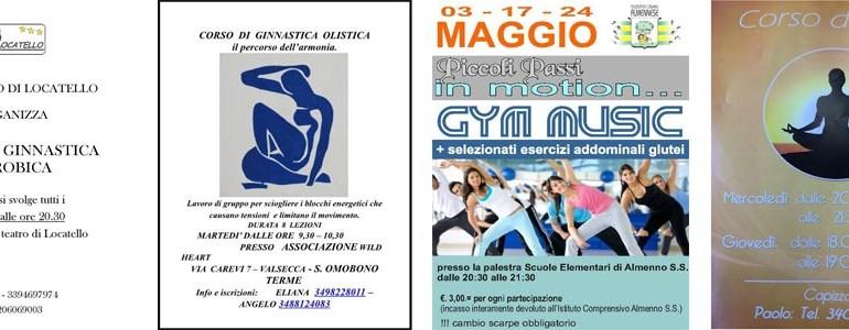 Corsi di ginnastica - Valle Imagna