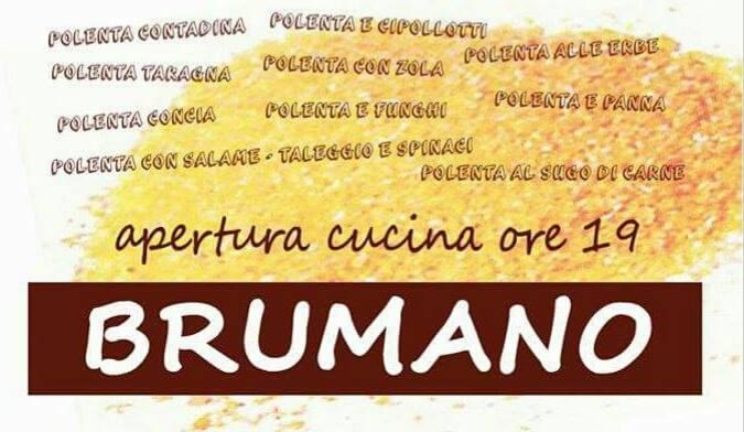 Sagra della polenta Brumano
