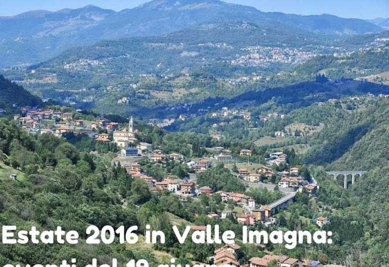 Estate 2016 Valle Imagna: eventi 19 giugno