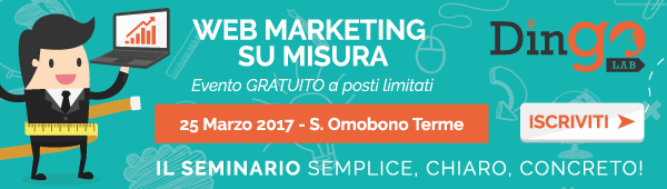 Banner web marketing su misura