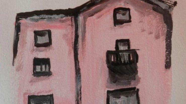 """A Capizzone l'evento artistico """"Una Casa Rosa"""""""