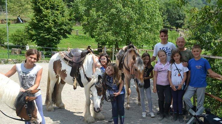Campi estivi in agriturismo alla Scuderia della Valle di Valsecca