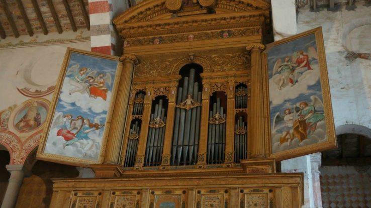L'organo Antegnati, un prezioso e antico strumento ad Almenno San Salvatore