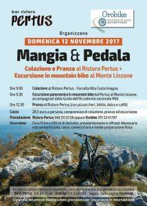 escursione in mountain bike orobike