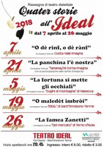 quater storie all'ideal 2018