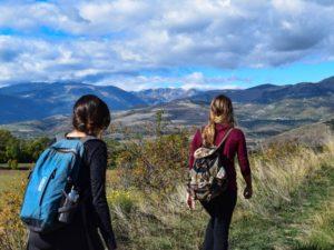 sentieri e percorsi in valle imagna