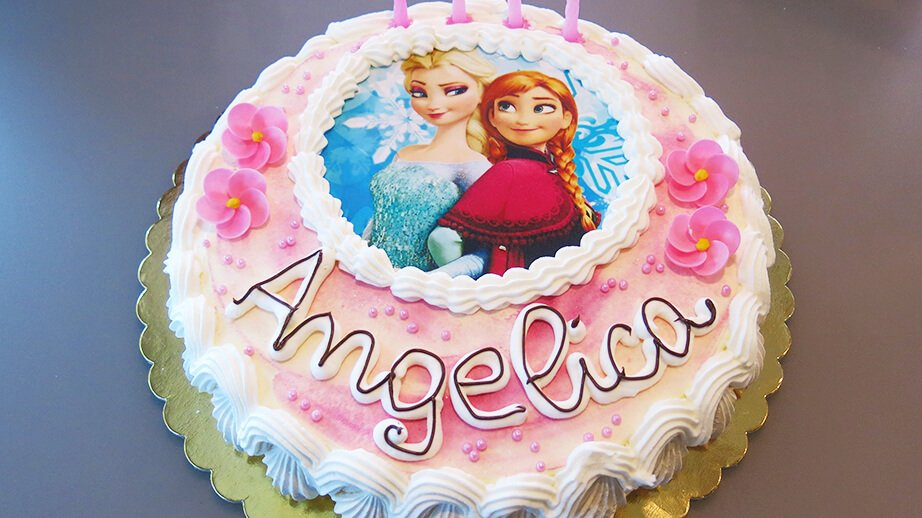 torte compleanno bambini frozen   Vallimagna