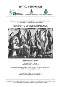 musica barocca a san tomè