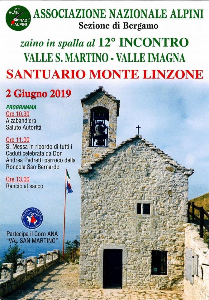 12° incontro degli alpini al Monte Linzone
