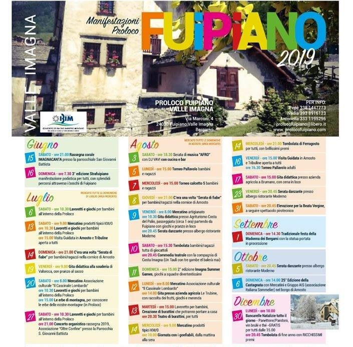 Estate 2019 a Fuipiano Valle Imagna