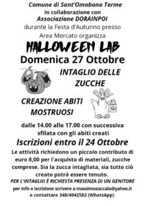 Halloween Lab - Associazione Dorainpoi