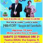 Carnevale 2020 in Valle Imagna - Teatro Ideal Sant'Omobono