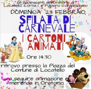 Carnevale 2020 in Valle Imagna - Locatello, Corna Imagna e Fuipiano Imagna